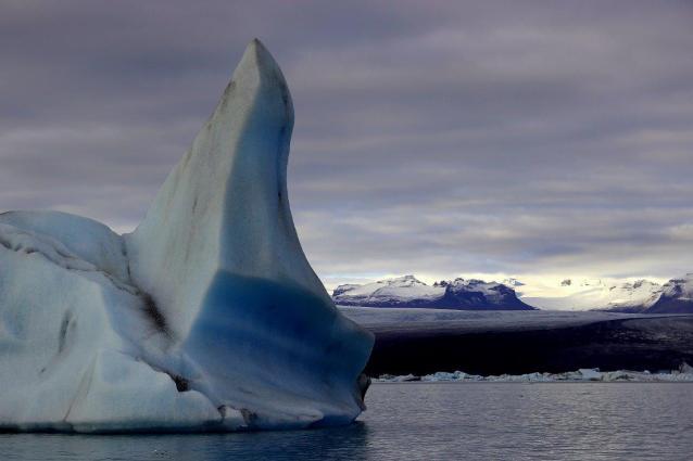 Eisberg in Jokulsarlon