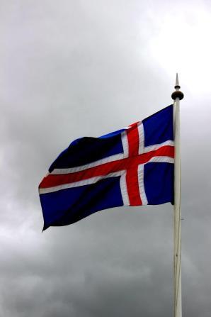 Island Flagge