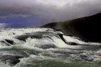 Island Wasserfall Gullfoss