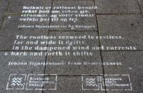 Island Reykjavík Gedicht