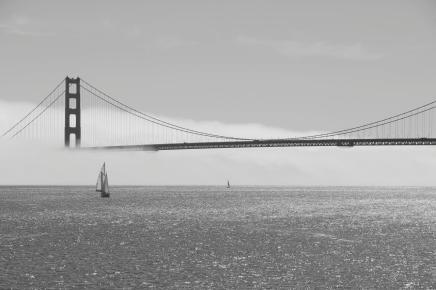 Golden Gate im Nebel I