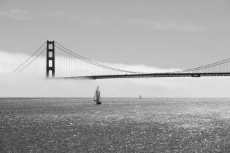 Golden Gate im Nebel II