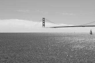 Golden Gate im Nebel III
