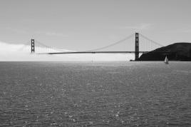 Golden Gate im Nebel IV