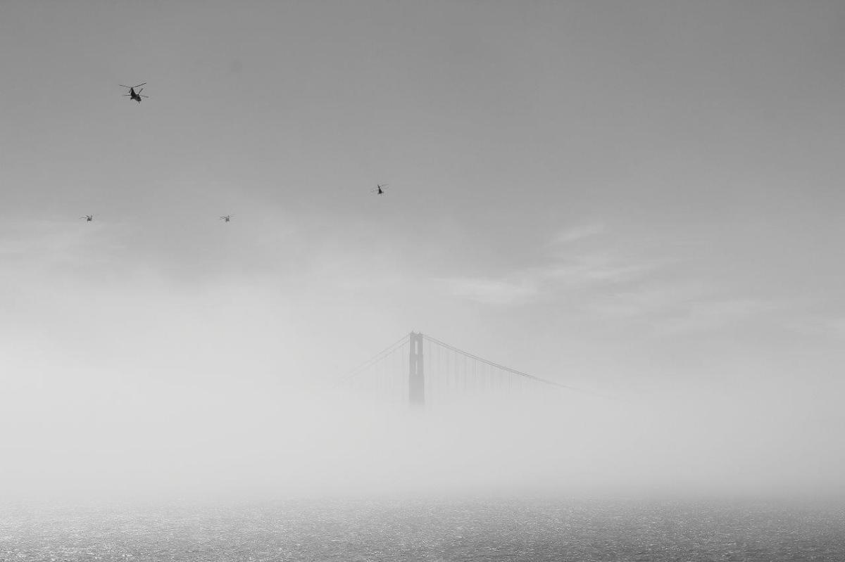 Golden Gate im Nebel VIII