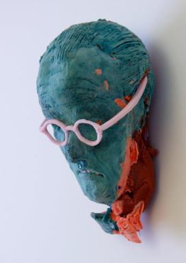 Maske von Folkert de Jong