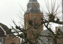 Blick auf die St. Jacobskirche in Winterswijk