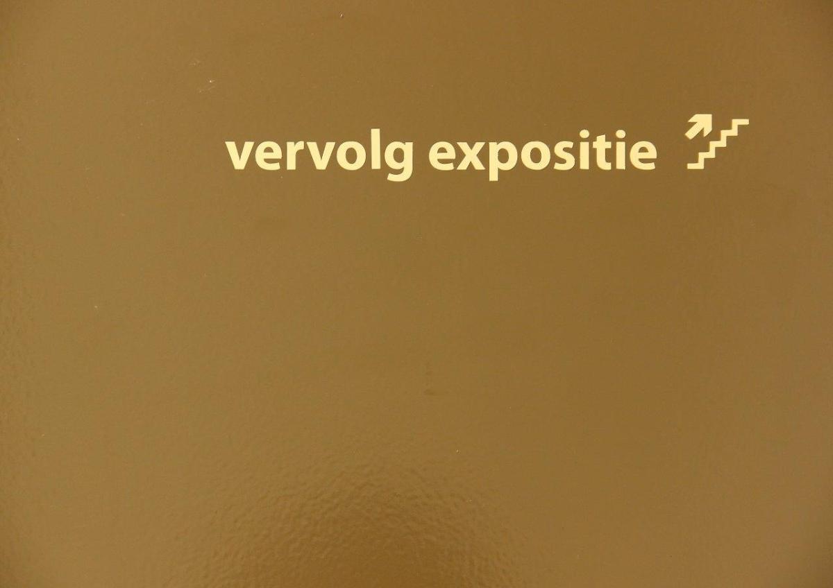"""Vervolg expositie"" - Ausstellungsrundgang"