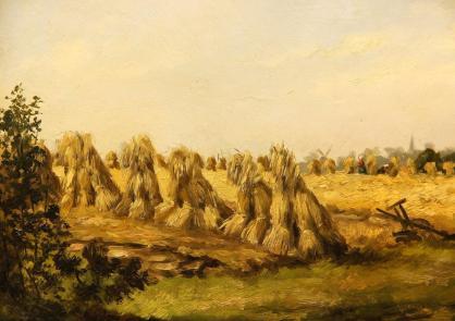 Garbenbündel auf dem Feld (1892)
