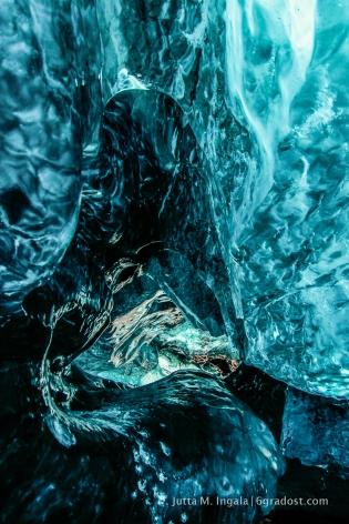 Glatt, transparent, mächtig: Eis am Vatnajökull