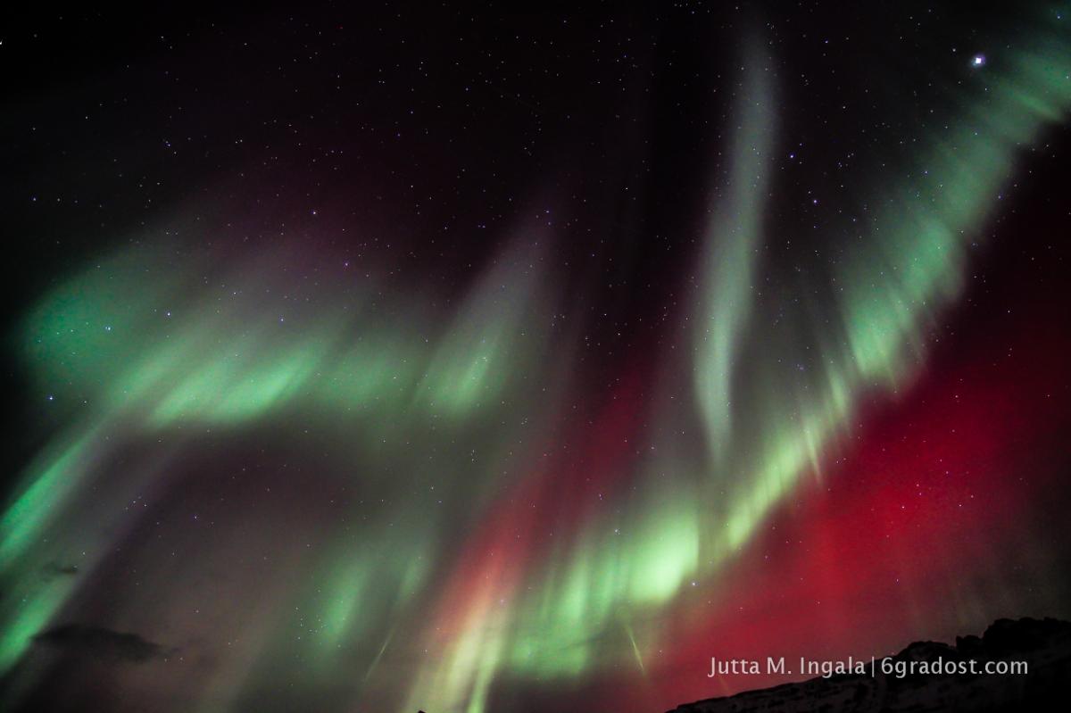 Electric Sky - Polarlicht