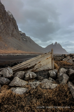 Das alte Boot am Hafnartangi