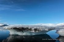 Vulkanasche im Eis