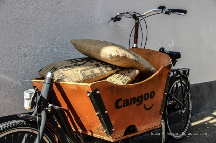 Kissen aus alten Kaffee-Säcken