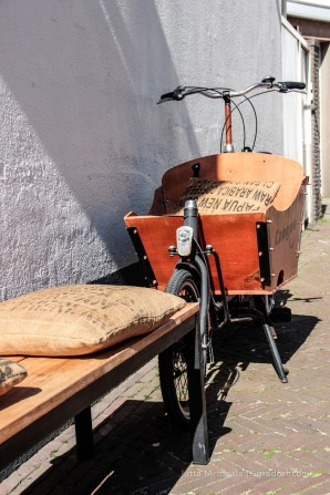 Einst Transportmittel für Kaffee-Säcke & Co.