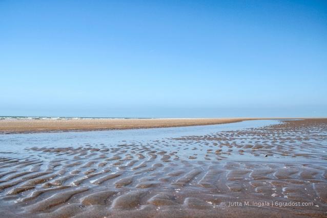 Der Strand für uns allein