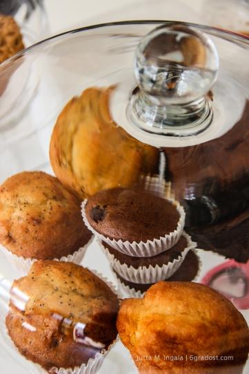 Hausgemachte Muffins und mehr