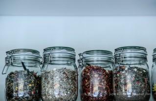 Tee - dekorativ im Weckglas