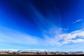 Himmel über Island