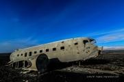 DC-3 - das Wrack 41 Jahre später