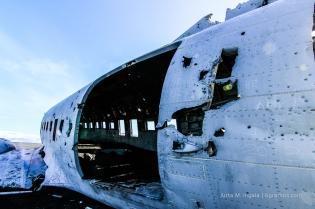 DC-3 - aufgerissen