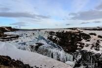Gullfoss im Eis
