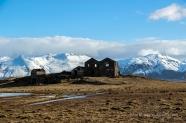 Verlassene Farm im Sudausturland