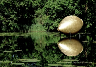 """""""The Spinning Oracle of Delphi"""" von James Lee Byars"""
