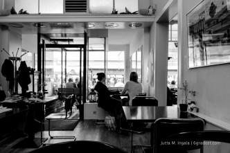 Schlicht & gut: Kunst-Café Vooraf en Toe