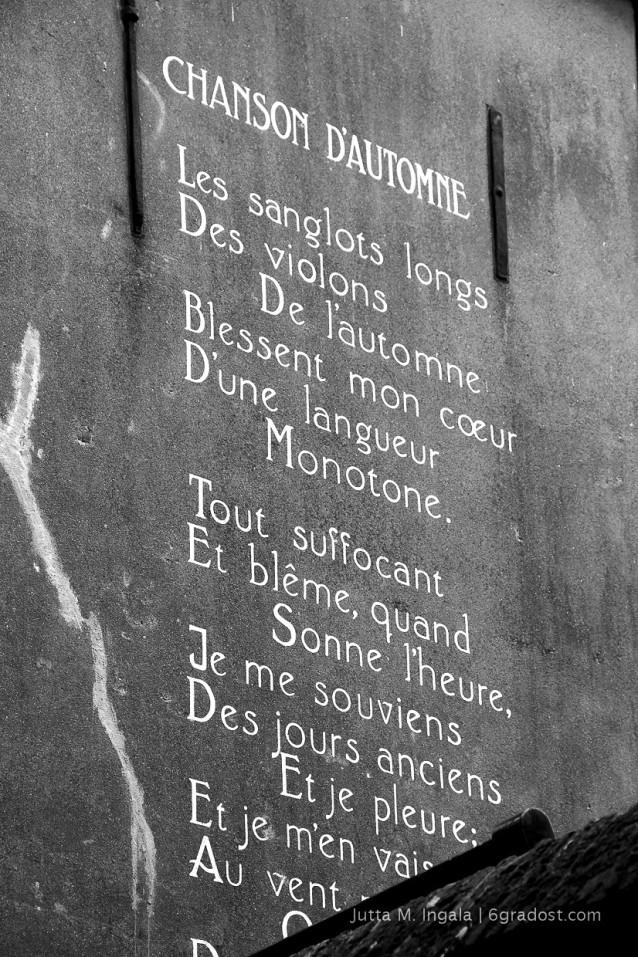 Chanson d'automne - Herbstlied