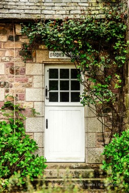 Charmante Häuser der Bretagne