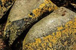 Steine mit metallischem Klang