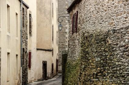 In den Gassen von Saint-Malo