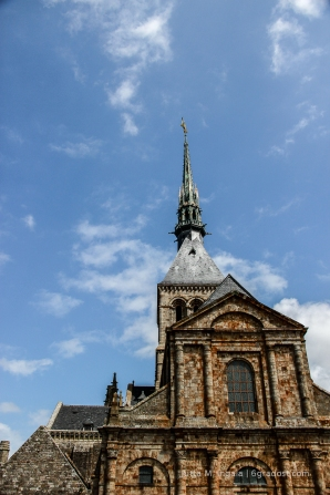 Der markante Klosterbau