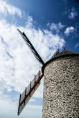 Windmühle in der Basse-Normandie
