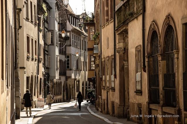 In den Gassen von Straßburg