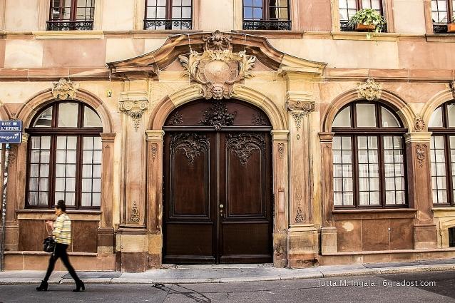 Portal in der Rue de l'Epine