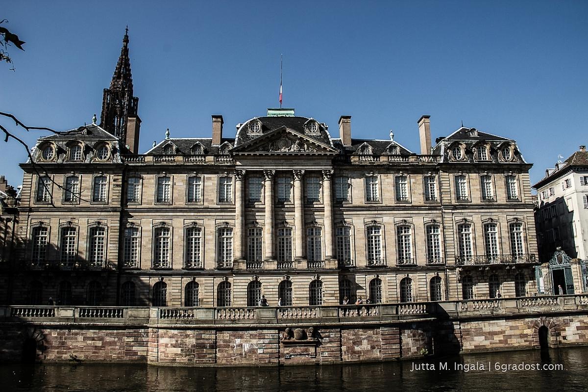 An der Jll: Palais Rohan