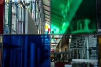 Buntglas am Musée d'Art Moderne