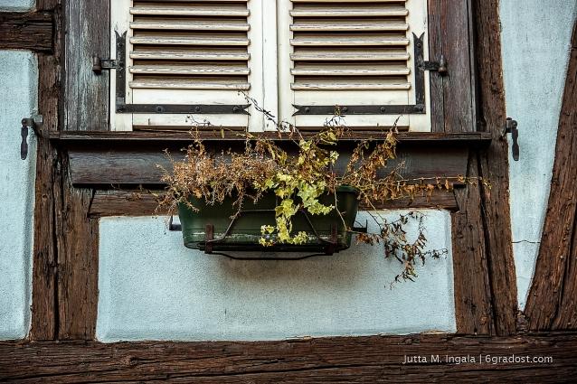 Idylle vorm Fenster