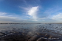 Strand von St. Peter-Ording: 12 km lang, 2 km breit