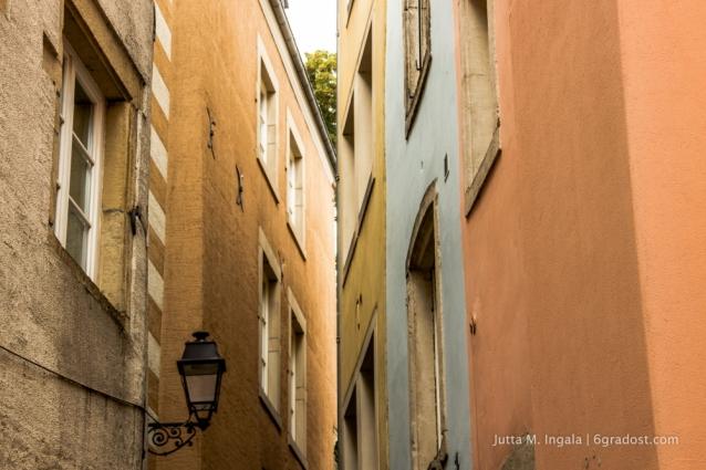 In den Straßen von Luxemburg