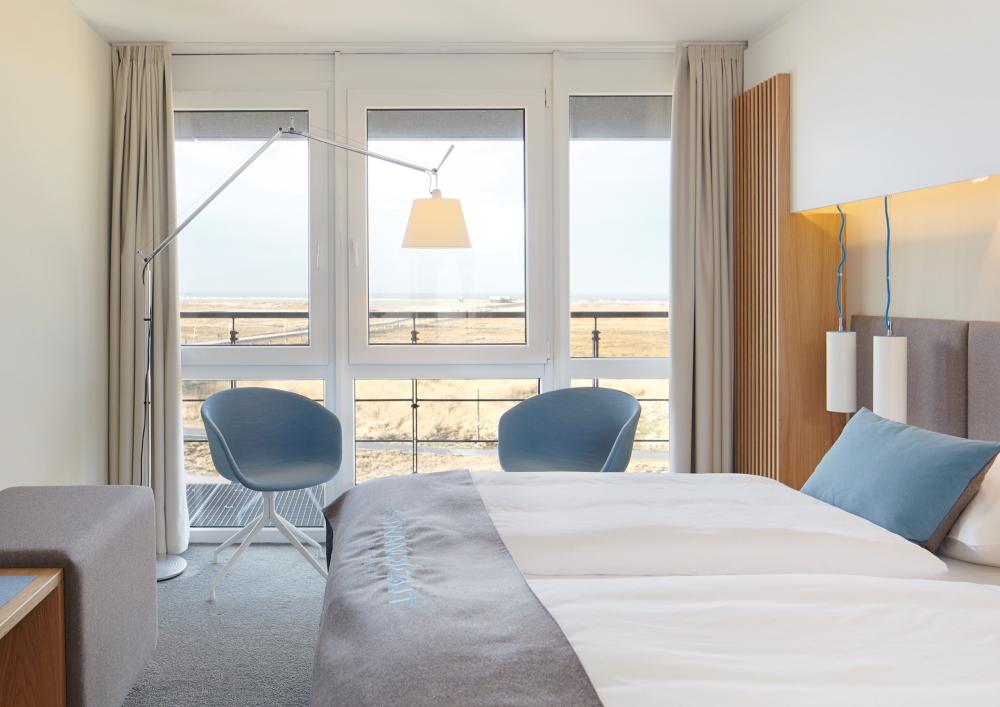 Meerblick-Zimmer, StrandGut Resort, St. Peter-Ording