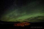 Nordlichter über Sólheimasandur
