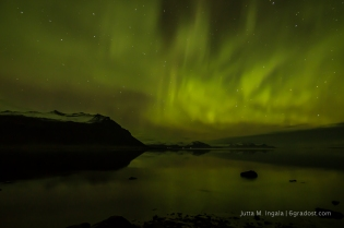 Nordlichter über Papafjörður