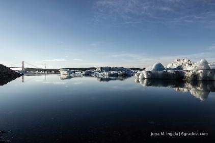 Wo das Eis zum Meer driftet