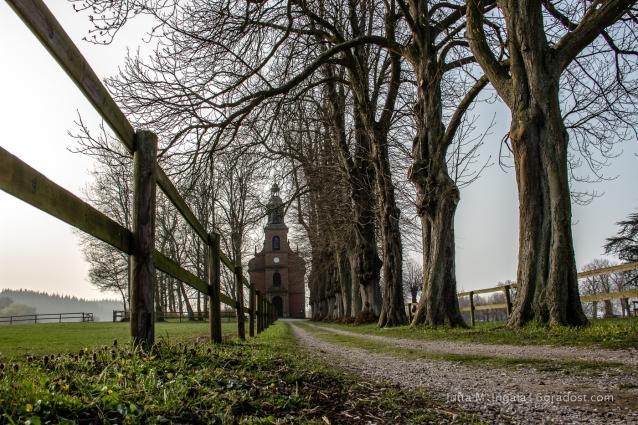 Schmucke Kulisse für Hochzeiten: die Kapelle