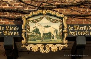 Namenspatronin: die Ole Liese, einst das Lieblingspferd Fürst Friedrich Wilhelms von Hessenstein