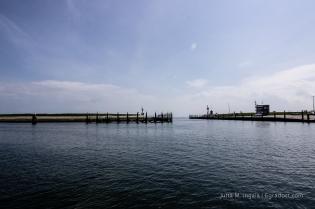 Hafenausfahrt von Oudeschild heute