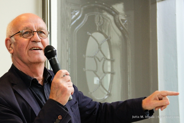 Wim van Krimpen, Galerist u. ehemaliger Direktor des Gemeentemuseum Den Haag